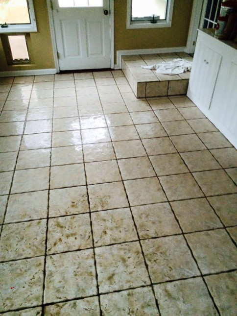 Tile cleaning, Newtown PA